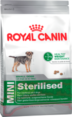 Корм ROYAL CANIN Мини Стерилайзд Эдалт 4 кг