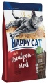 Корм HAPPY CAT Эдалт Индор (альпийская говядина) ФитВелл 1,4
