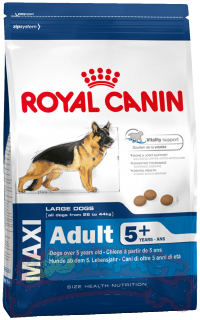 Корм ROYAL CANIN для собак Макси Эдалт 5+ 15 кг *1