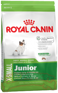 Сухой корм Royal Canin X-Small Junior 0,5 кг*12