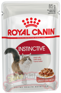 Корм ROYAL CANIN  Instinctive Инстинктив в соусе+1 ПАШТЕТ5Х85г 4+1 АКЦИЯ