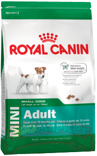Корм ROYAL CANIN Mini Adalt для собак Мини Эдалт 0,5кг+0,3кг